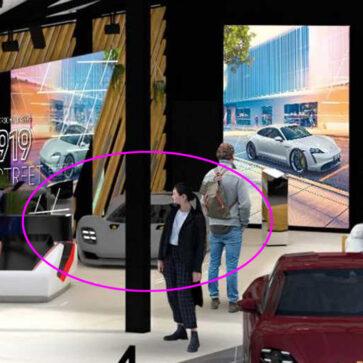 ポルシェがリリースしたモーターショーのブース予想図にハイパーカーが見える?うっかり配置してしまった可能性があり、918スパイダー後継発売の可能性が高まる
