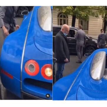 ブガッティ・ヴェイロンとランボルギーニ・アヴェンタドールSVJという「希少な限定車」同士が接触!アヴェンタドールのオーナーからは怒りオーラ噴出
