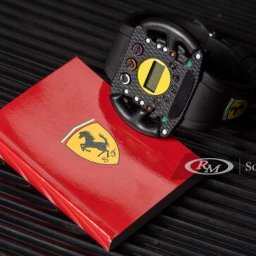 珍品!フェラーリの「F1のステアリングホイール風腕時計」が競売に。そのほかメルセデス・ベンツ、フィアットが60年代にリリースした腕時計も