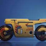 3Dデザイナーがホンダ・モトコンポXL発表!かつてのモトコンポとは異なりフルサイズのバイクなるもボクシーなスタイルは健在