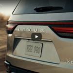 レクサスが新型「LX600」のティーザー画像を公開!公開は10月14日、実車はロシアとアラブ首長国連邦にて発表予定