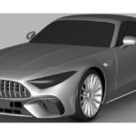 新型メルセデス・ベンツSLのパテント画像がリーク!そのスタイルはAMG GT風に、そして「AMG専売になる」というウワサも
