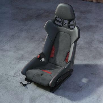 ポルシェが3DプリントされたバケットシートをOP設定!価格は35万円、従来製品より軽量で柔軟、「将来的にはドライバーの体型にあわせたオーダーメイドも提供」