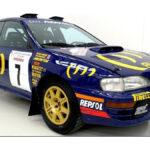 1994年のWRCカー、スバル・インプレッサ・プロドライブ555が「納屋で発見され」競売にかけられる!落札予想は1億3000万円なるも、実際には半額の6200万円での落札