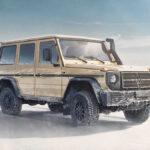 メルセデス・ベンツGクラスの新型「軍用モデル」、W464が投入開始!出力向上に加えて悪路走破性向上、さらにLEDライト装備など実用性も向上